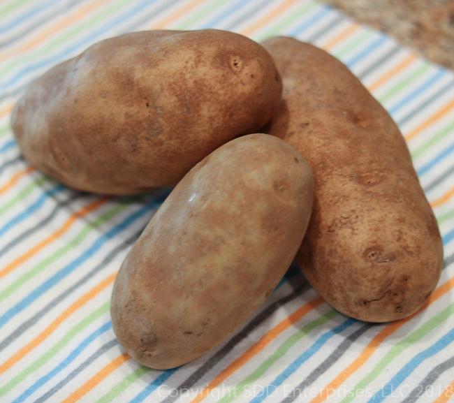 3 Russet Potatoes