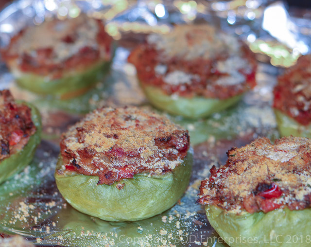 Baked Stuffed Mirlitons
