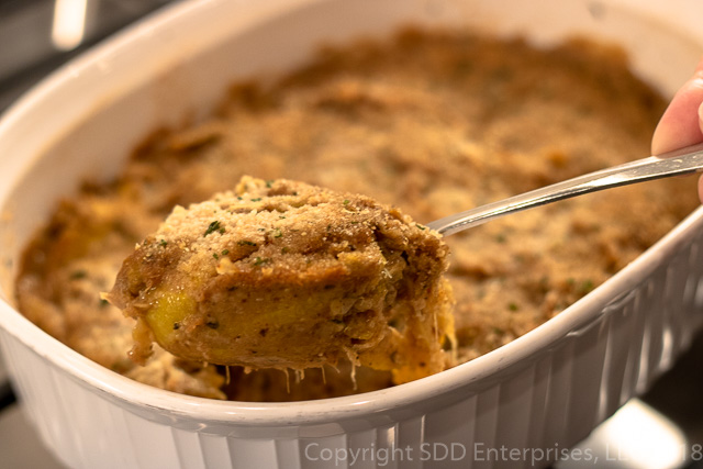Spoonful of squash casserole